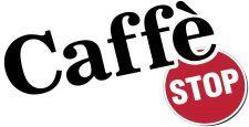 caffe stop logo design